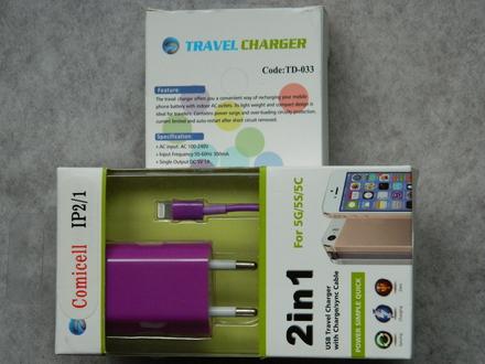|TOP| SET 2in1 za iPhone 5, iPad 4, mini ***PURPLE***aL