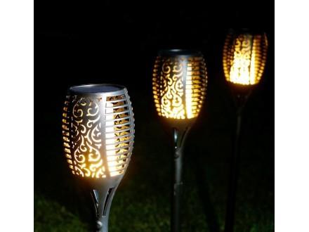 LED Solarna bastenska lampa/baklja