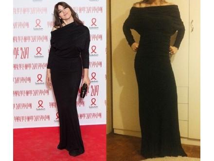 `Monika Beluči` večernja haljina