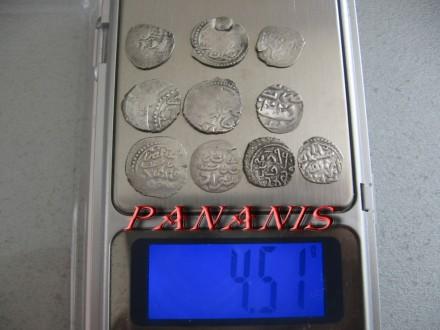 10 TURSKIH AKCI SREDNJI VEK SREBRO 4,51 gram