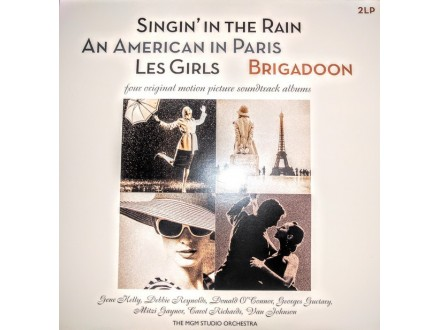 2 LP  Singin` In The Rain - An American In Paris - Les