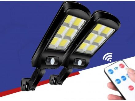 2 x Solarni LED Reflektor 120 dioda +Daljinski, Novo