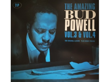 2LP Bud Powell ‎– The Amazing Bud Powell, Vol. 3 i Vol.