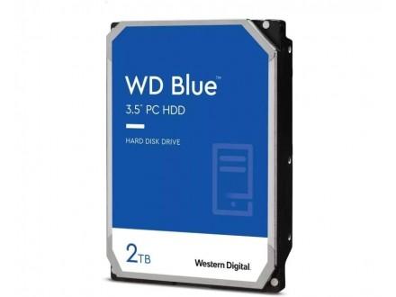 2TB 3.5` SATA III 256MB 7.200rpm WD20EZBX Blue