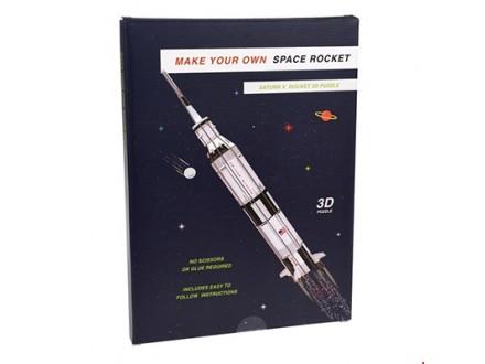 3D Puzzle - Space Rocket