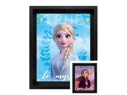 3D Slika - Frozen, 2 Sisters - Frozen