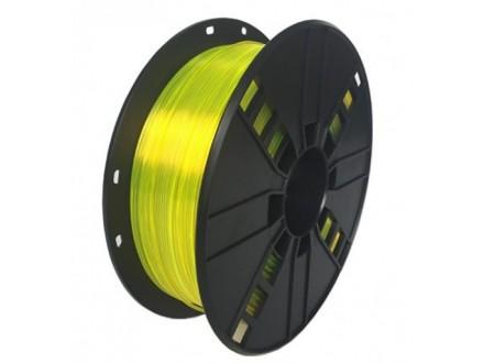 3DP-PETG1.75-01-Y PETG Filament za 3D stampac 1.75mm, kotur 1KG Yelow