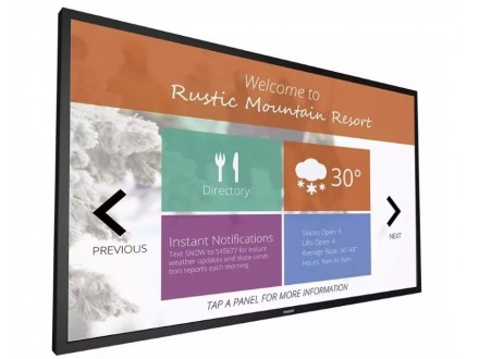 55` 55BDL4051T/00 Signage Solutions Multi-Touch Full HD Display Android