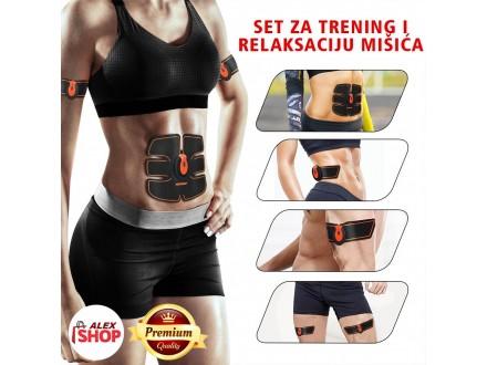 6 u 1 EMS Stimulator za mišiće celog tela -Smart Fitnes