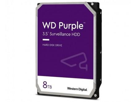 8TB 3.5` SATA III 128MB IntelliPower WD84PURZ Purple