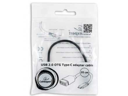 A-OTG-CMAF2-01 Gembird USB 2.0 OTG Type-C adapter cable