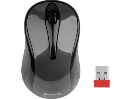A4-G3-280A  A4Tech V-Track bezicni opticki mis 2.4GHz 125Hz/1000Dpi Glossy grey, 102mm, USB