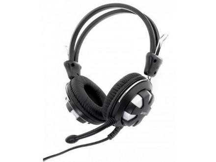A4-HS-28-2 A4Tech Gejmerske slusalice sa mikrofonom black/silver