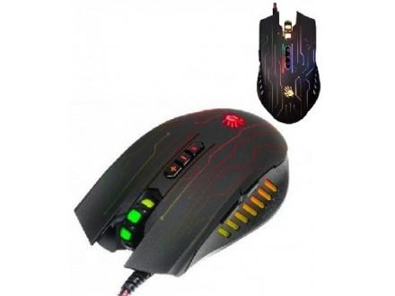 A4-Q81-CIRCUIT A4Tech Bloody Gejmerski Mis, NEON X-Glide, 500-3200 Dpi, USB