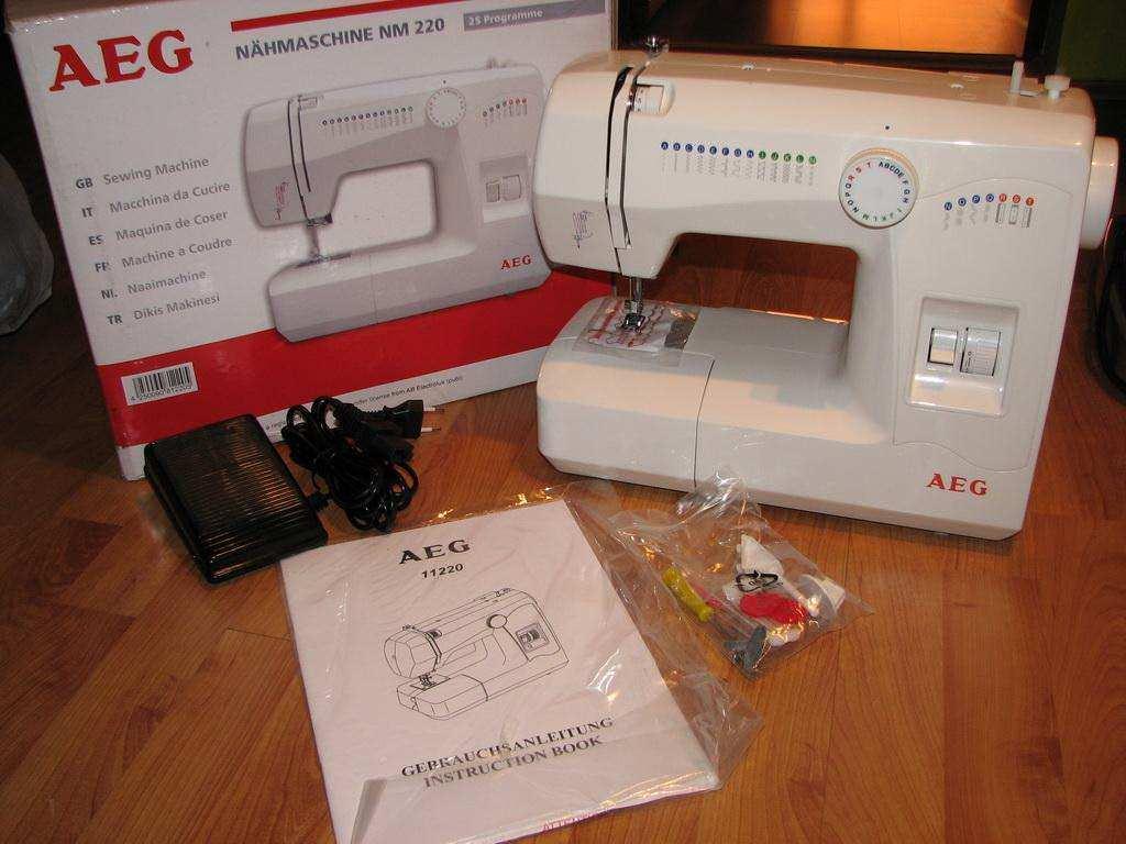 AEG ElectroLux Masina za sivenje u full pakovanju