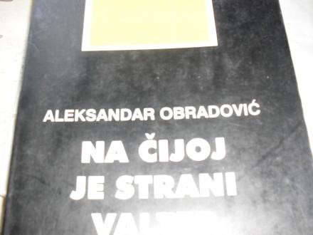 ALEKSANDAR OBRADOVIC - Na cijoj je strani Valter
