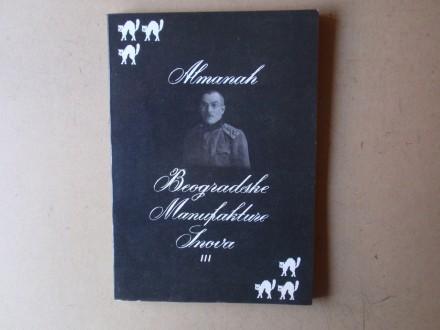ALMANAH BEOGRADSKE MANUFAKTURE SNOVA III