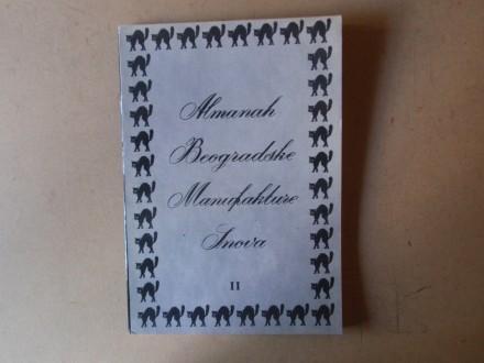 ALMANAH BEOGRADSKE MANUFAKTURE SNOVA II