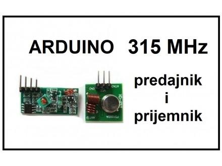 ARDUINO predajnik i prijemnik RF 315 MHz