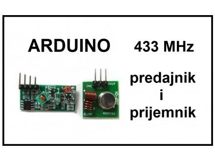 ARDUINO predajnik i prijemnik RF 433 MHz