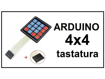 ARDUINO tastatura 4x4 brojevna
