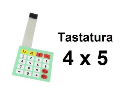 ARDUINO tastatura 4x5 brojevna
