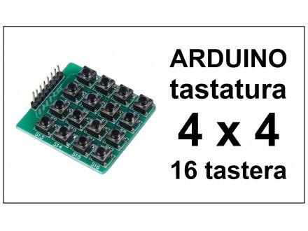 ARDUINO tastatura - Matrix keyboard - 16 tastera