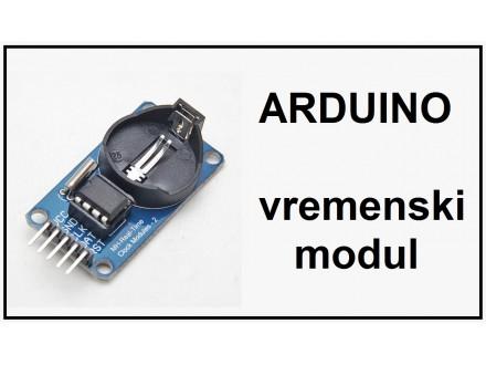 ARDUINO vremenski modul RTC DS1302