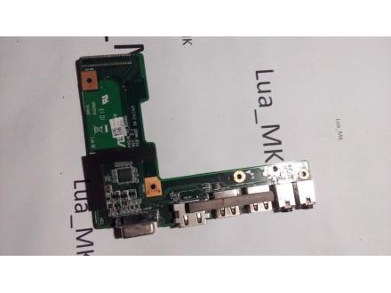 ASUS PRO5IJ VGA HDMI USB Audio Konektor
