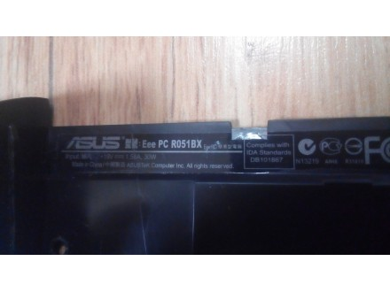 ASUS eee PC Seashel R051BX donji deo kucista
