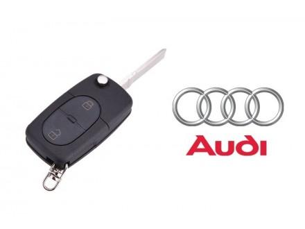 AUDI kljuc sa dva dugmeta - skakavac