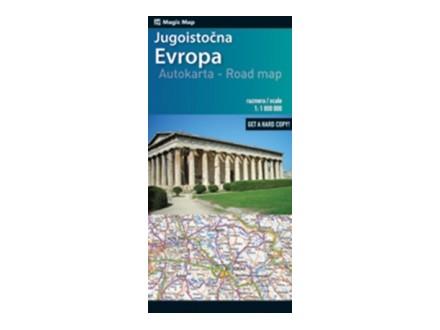 auto karta jugoistocne evrope Kupindo prodavnica člana Delfi_knjizare   Moj Dućan auto karta jugoistocne evrope