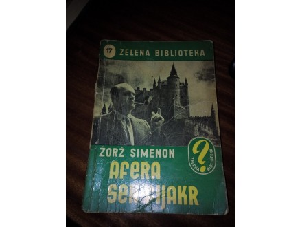 Afera Sen-Fijakr - Žorž Simenon