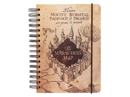 Agenda A5, HP, The Marauders Map - Harry Potter