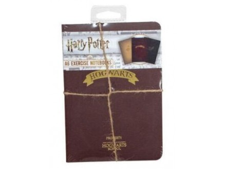 Agenda A6 Set 3 A6 - HP, Hogwarts Shrink Wrap - Harry Potter
