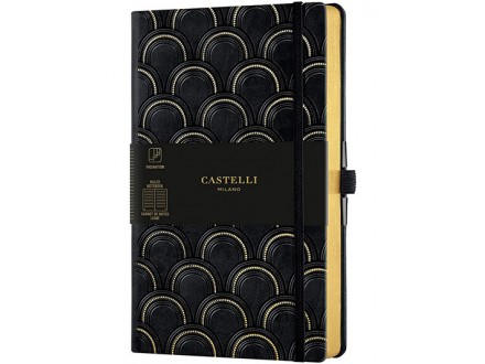 Agenda - Art Deco, Gold - Castelli