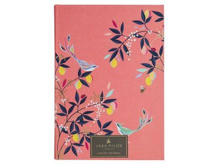 Agenda - Fabric, Coral Birds, Sara Miller - Sara Miller