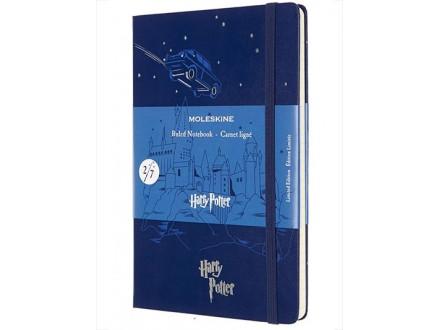 Agenda - Moleskine, Harry Potter Limited Edition, Large Ruled Hardcover Notebook - Flying Care - Moleskine, Harry Potter