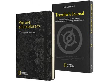 Agenda - Moleskine, Passion Journal, Travellers, National Geographic - Moleskine