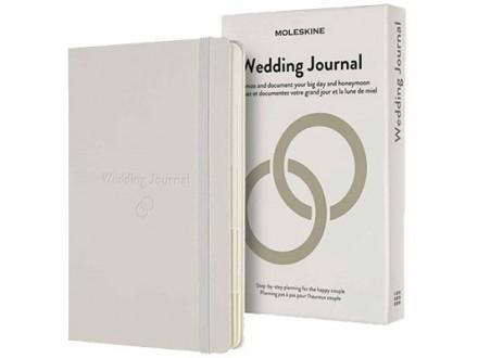 Agenda - Moleskine, Passion Journal, Wedding, Pearl White - Moleskine