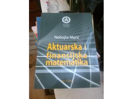 Aktuarska i finansijska matematika - Nebojša Marić