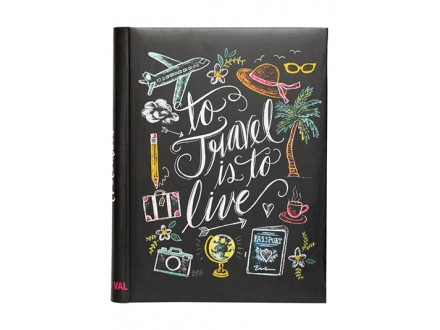 Album samolepljiv - To Travel Is To Live