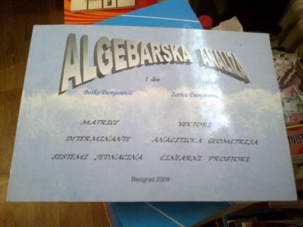 Algebarska analiza I deo - Damjanović Damjanović