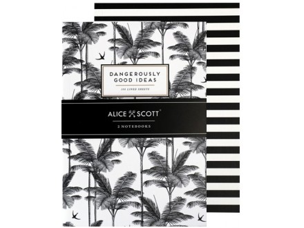 Alice Scott Sveske A5 Set/2
