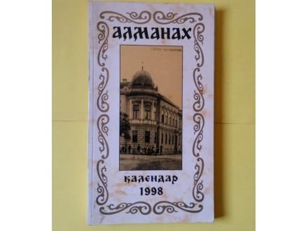 Almanah kalendar 1998