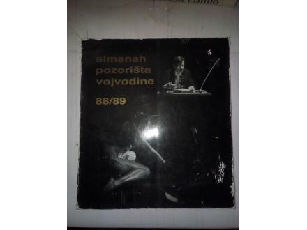 Almanah pozorišta vojvodine 88/89