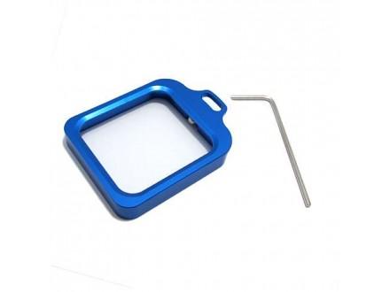 Aluminijumski okvir za GoPro Hero 3+/4 plavi (MS)