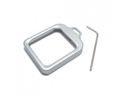 Aluminijumski okvir za GoPro Hero 3+/4 srebrni (MS)