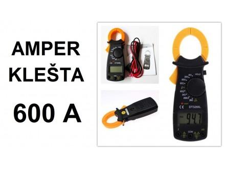 Amper klesta - 600A - DT3266L