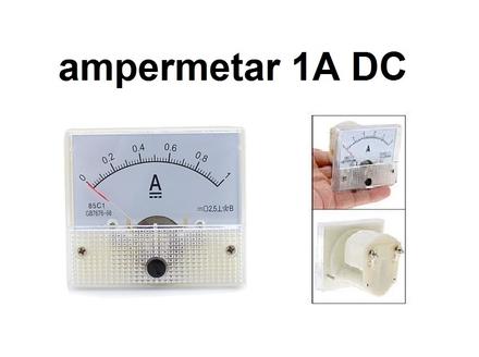 Ampermetar DC 1 A - analogni